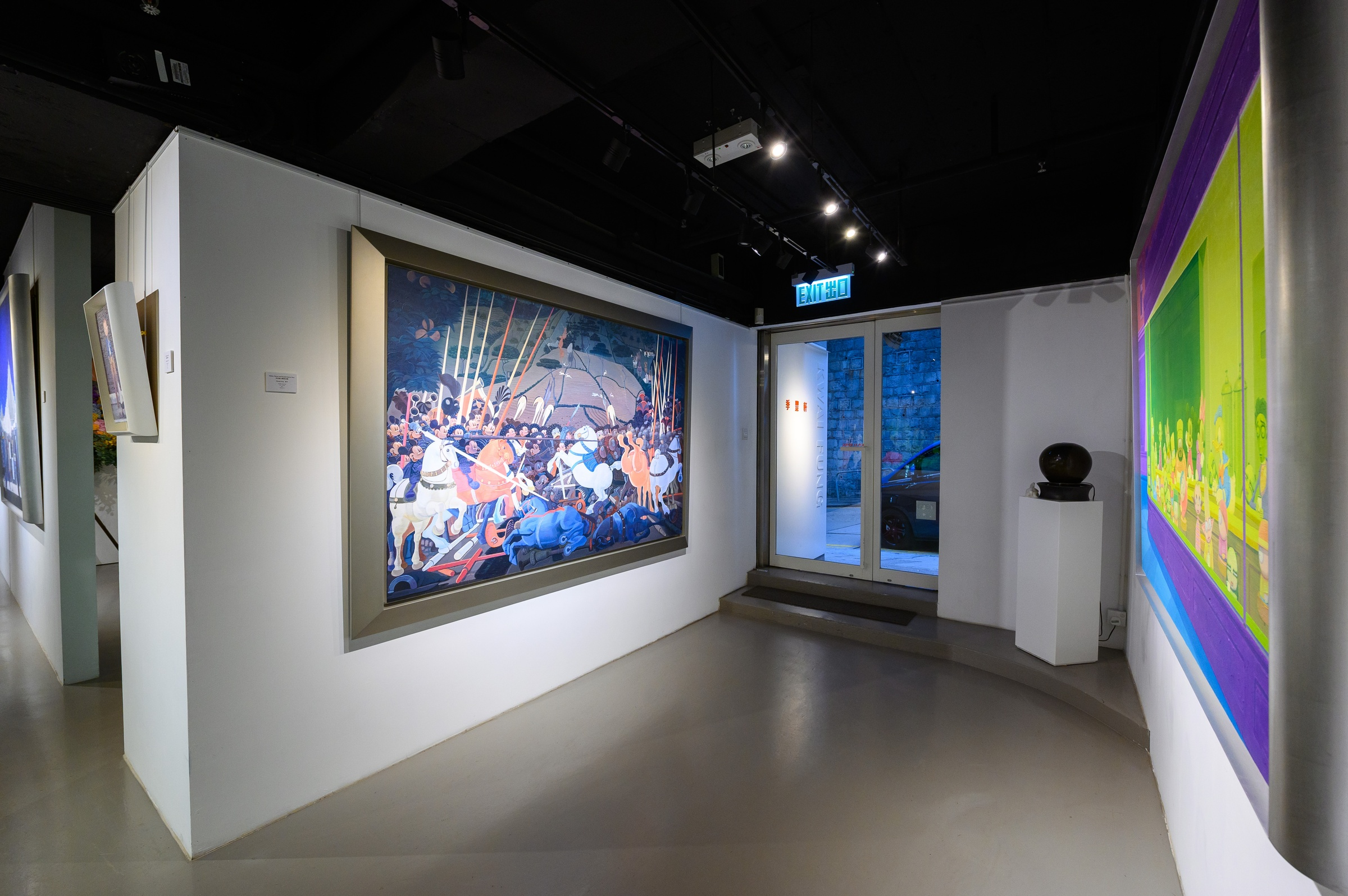 Beyond Description, Beyond Boundary • Paintings of Zhang