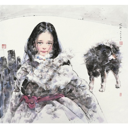 Ai Xuan, Sanghi the Young Girl, 2013