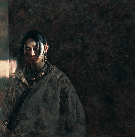 Ai Xuan, White Light Fades Slowly, 2001