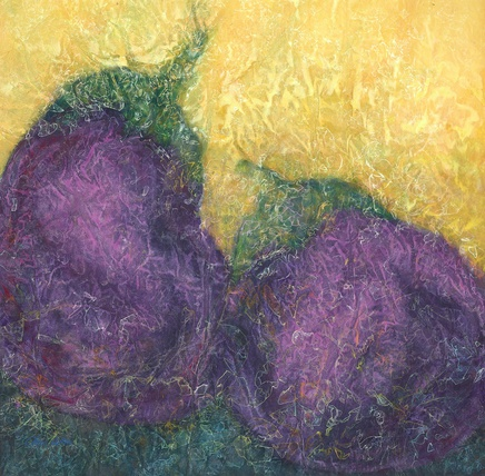 Nancy Chu Woo, Two Eggplants , 2011