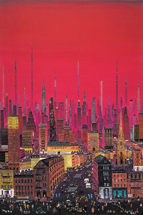Zhang Gong, New York Pink Sunset, 2010