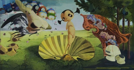 Zhang Gong, The Birth of Venus, 2007